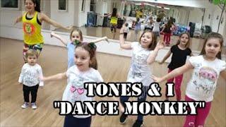 """""""Dance Monkey"""" Zumba Kids Choreography"""