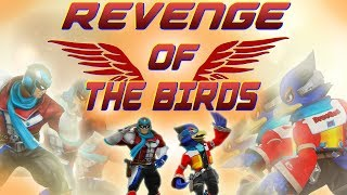 REVENGE OF THE BIRDS - A Falco And Falcon Smash Wii U Combo/Highlights Montage