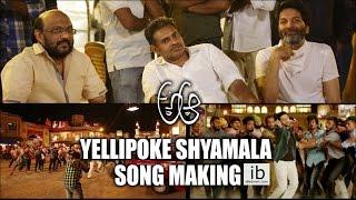 A Aa Yellipoke Shyamala Song Making