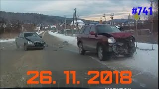 ☭★Подборка Аварий и ДТП/Russia Car Crash Compilation/#741/November 2018/#дтп#авария