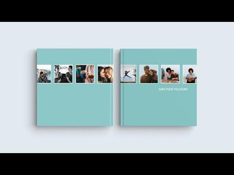 Inspiration pour votre livre photo — 'Amis pour toujours'
