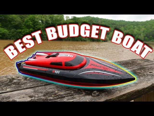 BEST RC BOAT Under $60!!! - FAST and 2 Batteries - TheRcSaylors