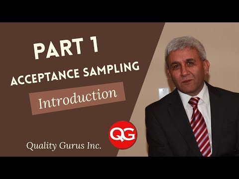 ASQ CQE - Acceptance Sampling - Part 1 - Introduction - YouTube
