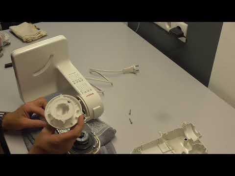 Bosch MUM4 reparieren - Schritt-für-Schritt Anleitung