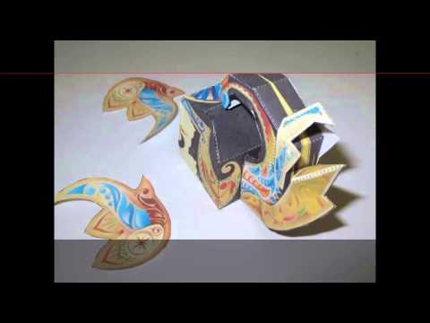 Video gatotkaca papercraft