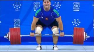 Осетин Русла́н Албе́гов самый сильный человек планеты