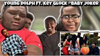 THEY REMADE FRIDAY! Young Dolph Ft. Key Glock   Baby Joker | REACTION | D R E A M E R S