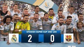 Real Madrid 2 0 Barcelona  HD 1080i (Spanish Super Cup) Full Match Highlights 160817 HD