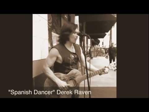 Derek Raven busking in Santa Monica