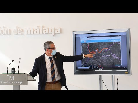 Presentación de las once primeras actuaciones viarias del plan Via-ble de lucha contra la despoblación