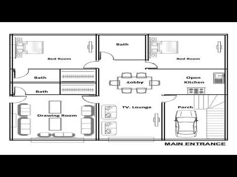 5 Marla Beautiful House Map And Construction Mp3