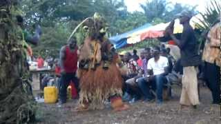 preview picture of video 'Enugu Inyi funeral Masquerade (mmanwu)'