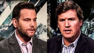 The Moment Tucker Carlson Realized Dave Rubin Might Be Too Stupid For Him