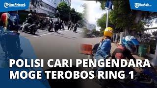Terobos Ring 1 saat Sunmori, Polisi Kini Cari Pengendara Moge yang Ditendang Paspampres