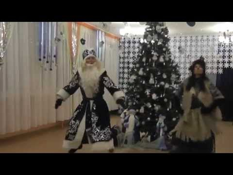 OPPA GANGNAM STYLE танец деда мороза