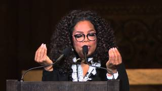 "Oprah Winfrey delivers 2015 ""Harry's Last Lecture"" at Stanford University"
