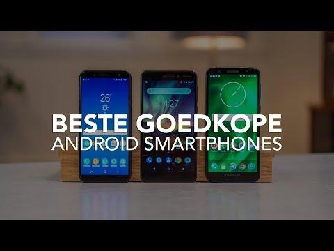 De 4 beste goedkope Android-smartphones van 2018
