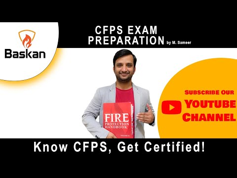 Introduction Certified Fire Protection Specialist (CFPS) From NFPA ...
