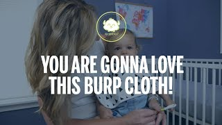 Why You Need These Burp Cloths By KeaBabies? | Be Prepared For Spit Ups and Mess With a Newborn