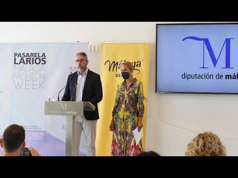 Presentación del Premio Talento Novel y vídeo promocional de Málaga de Moda en la Pasarela Larios Málaga Fashion Week