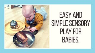 HOW TO PLAY WITH YOUR BABY / SENSORY PLAY IDEAS FOR NEWBORNS TO 9 MONTHS
