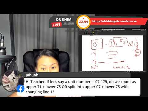 I-Ching and Confucius |易经 | Come and check your house number! with DR KHIM