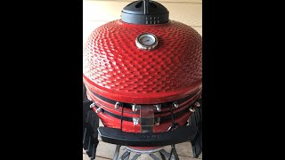 How To Set And Control The Temperature On Louisiana Kamado, Or Any Kamado Style Grill.