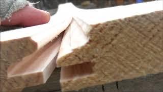 Вагонка по цене обрезной доски Как сделать самому !