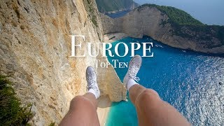 Top 10 Places To Visit In Europe