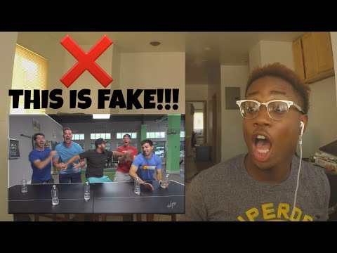 Water Bottle Flip Edition - Dude Perfect | REACTION