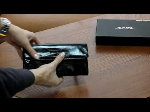 Кошелек de esse LC14012X-YP01 Черный