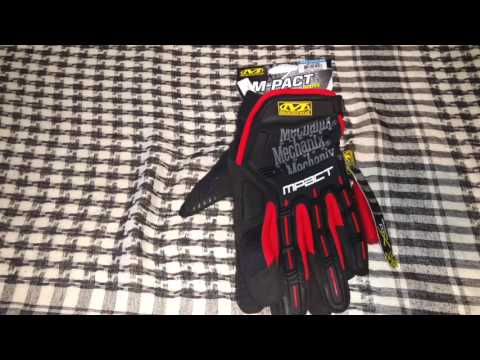 Revisión rápida guantes mechanix Mpact en español