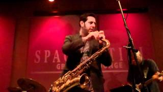 Steve Cole performs Off Broadway Live at Spaghettinis