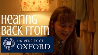 Was I Offered a Place at Oxford University?    Quick Update