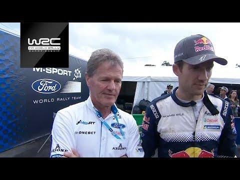 WRC 2018: Ogier´s final M-Sport Ford WRT Service