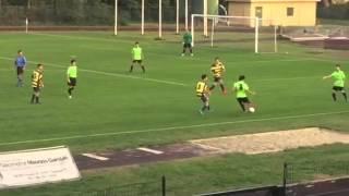 Vergherese - Mozzatese 3-1, Mattia Manfredi gol