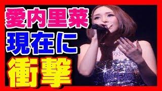 歌手愛内里菜の現在に衝撃!!