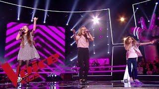 Ed Sheeran - Shape of you | Ilona - Lina - Irma | The Voice Kids France 2018 | Battles