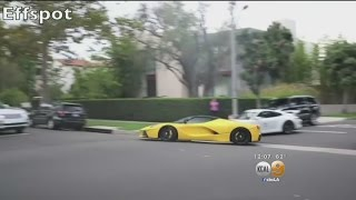 Owner Of Ferrari Seen Racing In Beverly Hills Out Of The Country