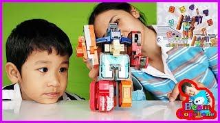 น้องบีม | รีวิวของเล่น EP77 | หุ่นยนต์ตัวเลขพ็อกเก็ตมอร์เฟอร์ Toys