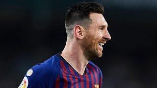 Messi's Hat Trick Vs Real Betis 2019