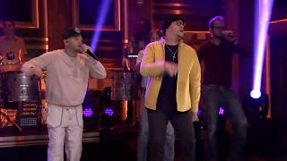 Karaoke Bien Bellacoso Residente y Bad Bunny version en vivo show Jimmy Fallon