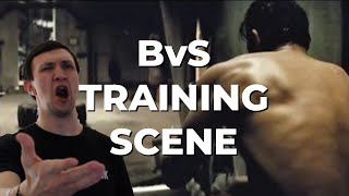 Personal Trainer Reacts To Batman v Superman Training Scene | Hero Academy 038