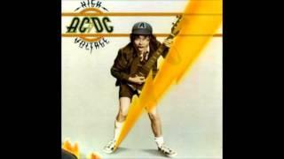 AC/DC - Stick Around - High Voltage (Australian) 1975