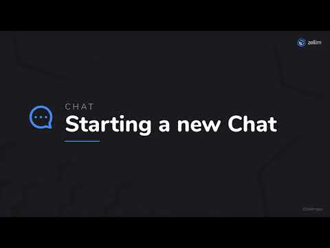 Starting a New Chat
