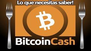 ✅Bitcoin Cash (BCH) Bifurcación -15 de Noviembre   2018 LO QUE NECESITAS SABER!