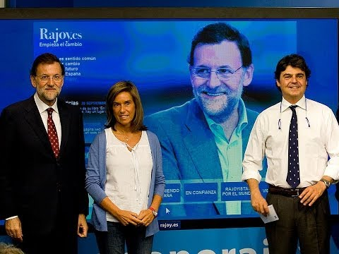 Presentación de la web RAJOY.ES