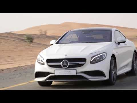 Mercedes-Benz S 63 AMG Coupe Edition 1 - Test Drive in Dubai