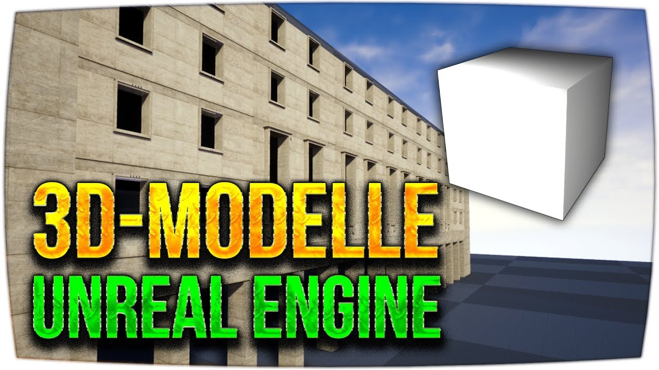 SIMPLE 3D-Models mit BSP Brushes erstellen ► Unreal Engine Tutorial (German)