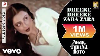 R.D. Burman - Dheere Dheere Zara Zara Best Video|Agar